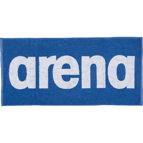 arena Gym Soft Asciugamano, blu/bianco